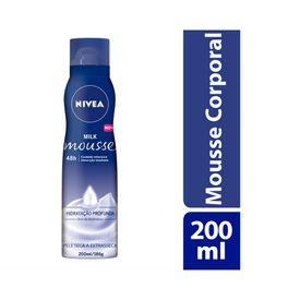 Mousse-Hidratante-Nivea-Milk-200ml