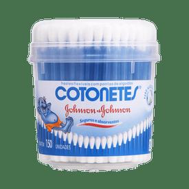 Hastes-Flexiveis-Cotonete-Johnson---Johnson-com-150un-Pote