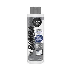 Shampoo-Salon-Line-Men-Cabelo-Barba-Bomba-de-Vitaminas-300ml