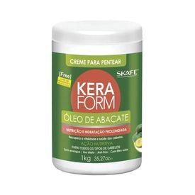 Creme-para-Pentear-Skafe-Keraform-Abacate-1000g
