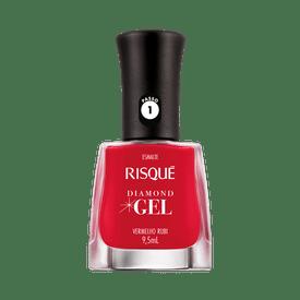 Esmalte-Risque-Diamond-Gel-Vermelho-Rubi