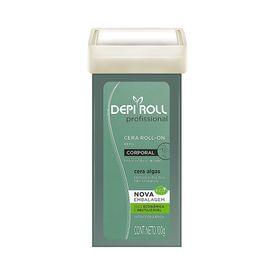 Cera-DepiRoll-Refil-Algas-Verde-100g