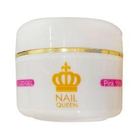 Gel-Para-Alongamento-de-Unhas-Nail-Queen-UV-Pink-15ml
