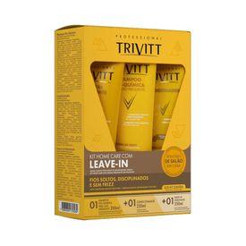Kit-Trivit-Home-Care-Hidratacao-Shampoo---Condicionador---Leave-in