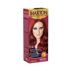 Tintura-Maxton-7.66-Louro-Medio-Vermelho-Intenso
